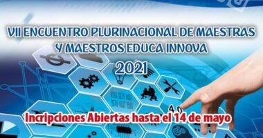 Convocatoria e Inscripción EDUCA INNOVA 2021