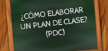 ELABORACIÓN DEL PLAN DE DESARROLLO CURRICULAR (PDC)