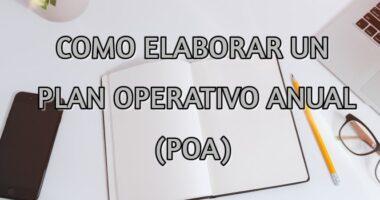 ELABORACIÓN DEL PLAN OPERATIVO ANUAL (POA)