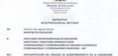 Concreción Del Modelo Educativo Sociocomunitario Productivo