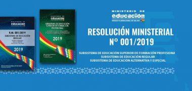 NORMAS GENERALES PARA LA GESTIÓN EDUCATIVA 2019