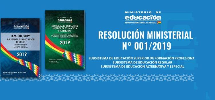 RESOLUCION 001-2019