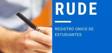 RUDE – Registro Único de Estudiantes