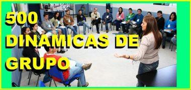 500 DINÁMICAS DE GRUPO, PARA PROFESORES Y ESTUDIANTES.