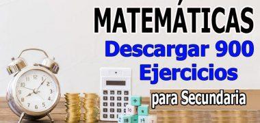 900 Problemas De Matemáticas Para Imprimir〖PDF〗