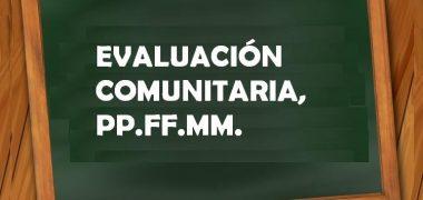 EVALUACIÓN COMUNITARIA PARA PADRES DE FAMILIA PRIMARIA Y SECUNDARIA【2019】