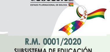 NORMAS GENERALES PARA LA GESTIÓN EDUCATIVA【2020】