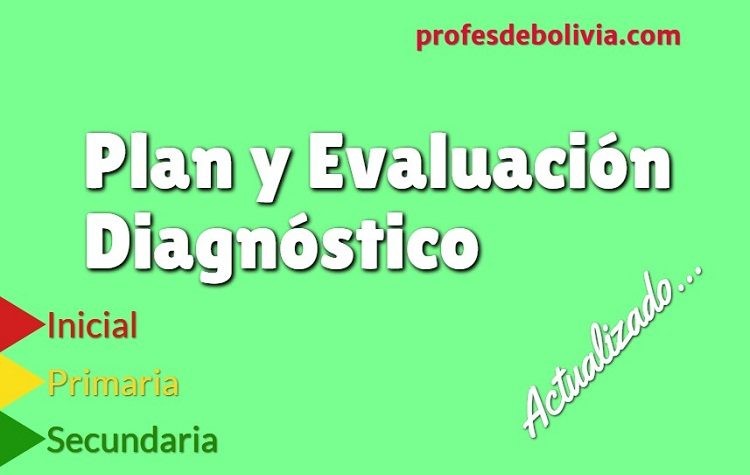 plan y evaluación diagnostica