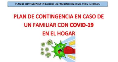 Plan de Contingencia en Caso de un familiar con COVID-19