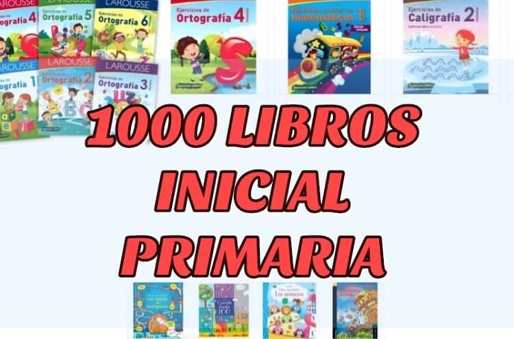 1000 LIBROS DE PRIMARIA
