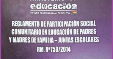 Reglamento De Juntas Escolares o Consejos Educativos
